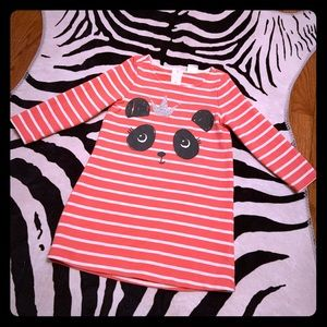 Gymboree Striped Sweatshirt Dress